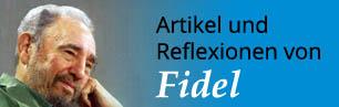 Artikel und Reflexionen von Fidel