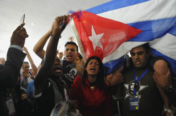 Forum der Zivilgesellschaft - kubanische Delegtion
