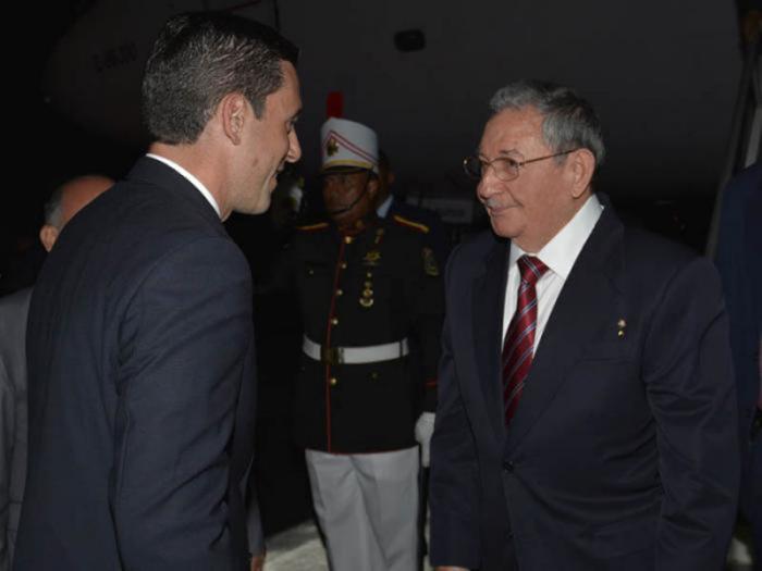 Raúl auf dem Flughafen Panama-Pazifik