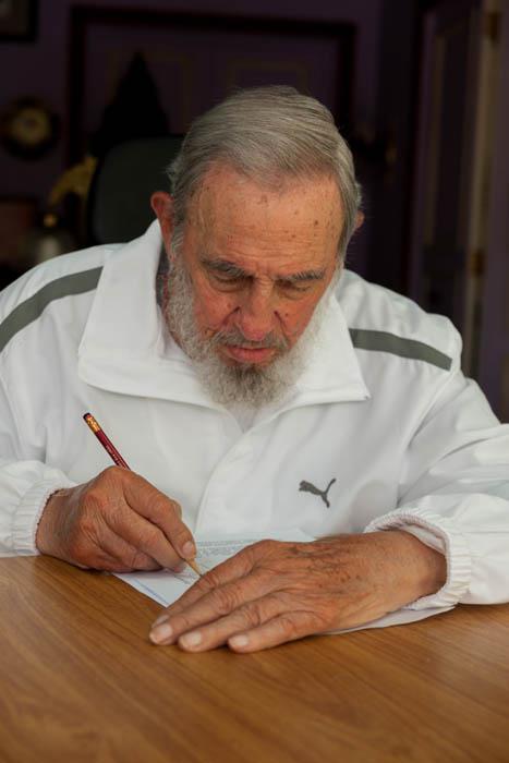 Fidel machte von seinem Wahlrecht Gebrauch