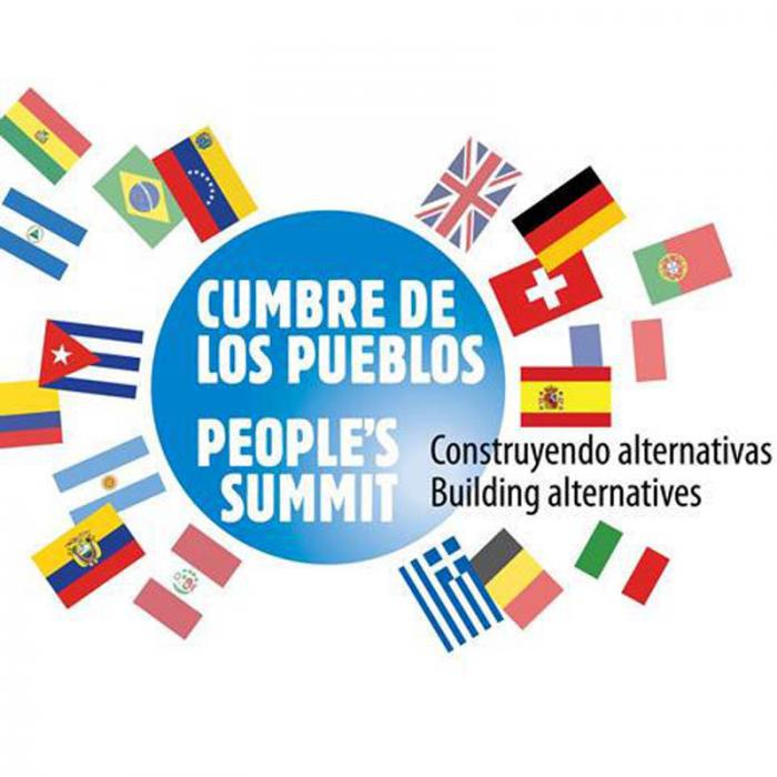 Abschlussveranstaltung »Gipfel der Völker«