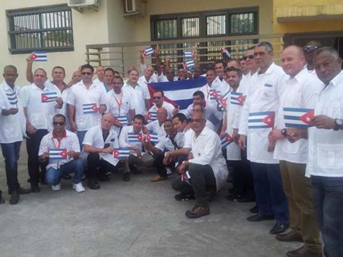 Kubanische Ärztebrigade in Liberia