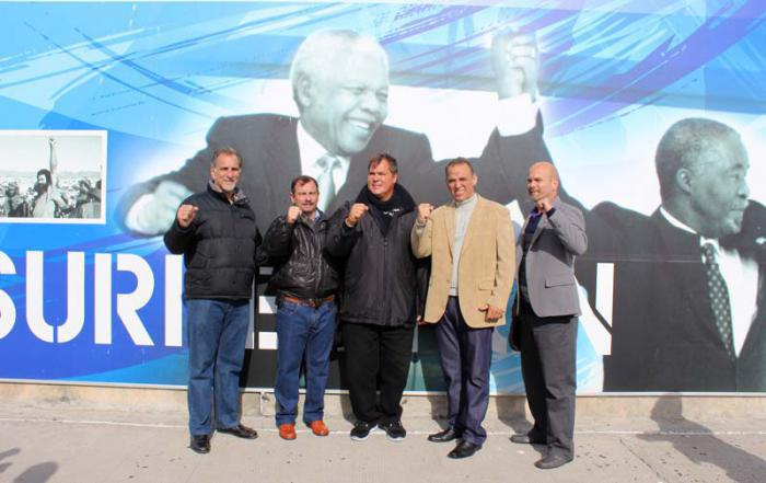Cuba Five auf Robben Island