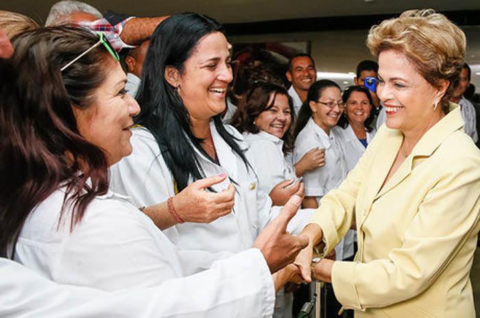 Brasilianische Präsidentin dankt für den kubanischen Beitrag an der Gesundheitsfürsorge