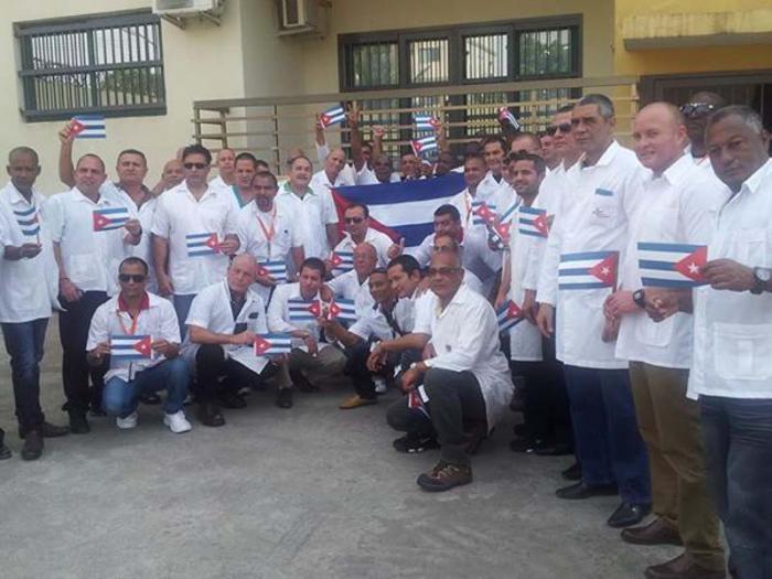 Während der Ebola-Krise schickte Kuba 53 Gesundheitsfachleute nach Liberia