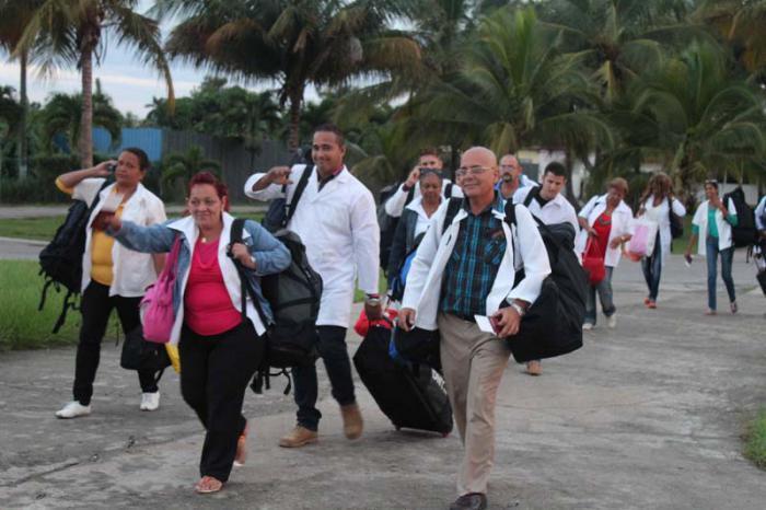 Medizinische Brigade nach Dominica aufgebrochen