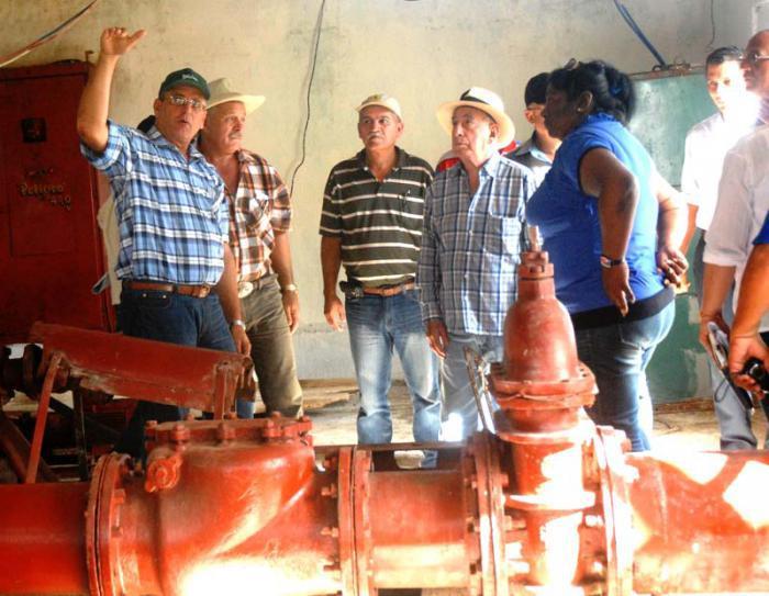 landwirtschaftliche Bereiche in der Provinz Holguin