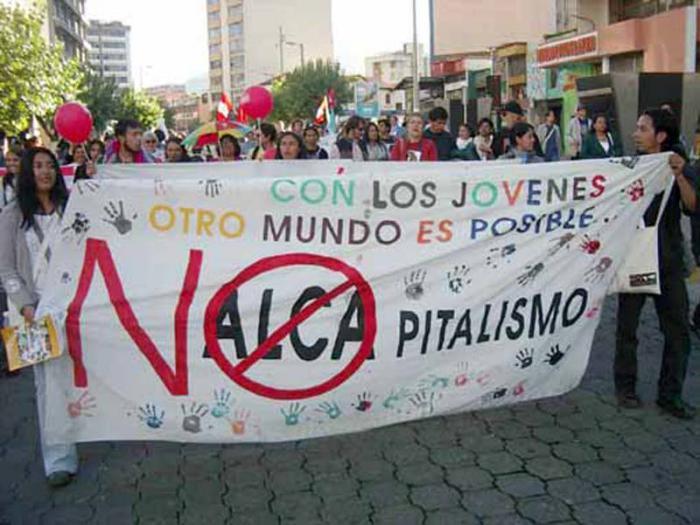 Kampf gegen die Freihandelszone ALCA