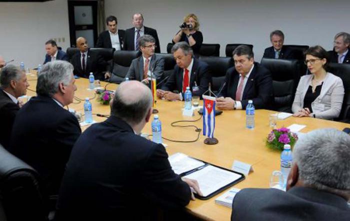 Díaz-Canel traf mit deutschem Vizekanzler zusammen