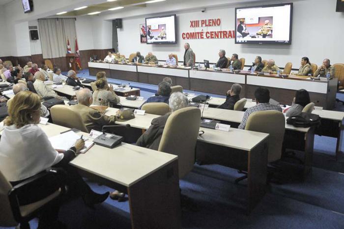 13. Plenum des Zentralkomitees