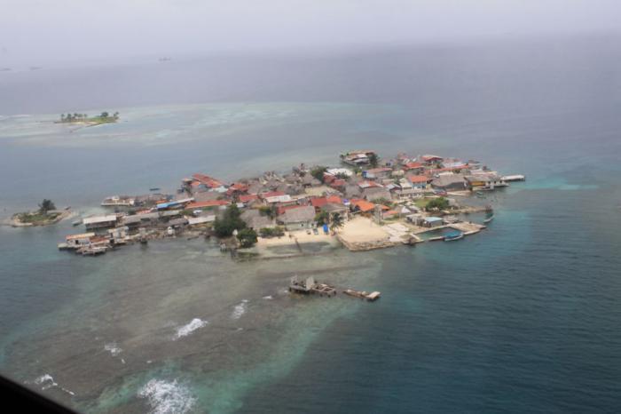 karibisches Meer angesichts des Klimawandels