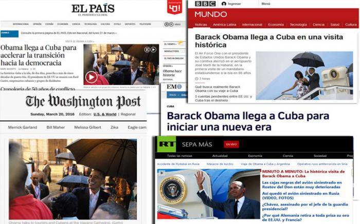 Presse zum Obamabesuch in Kuba