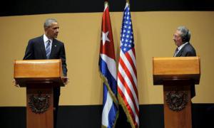 Raúl und Obama gaben Presseerklärungen ab