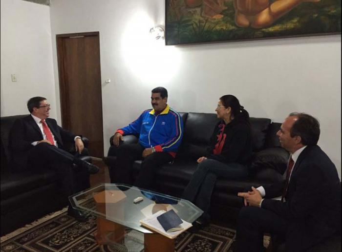 Venzuelas Präsidenten Nicolás Maduro in Kuba