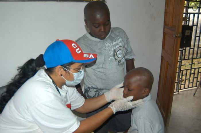Medizinische Mitarbeit Kubas in karibischen Ländern