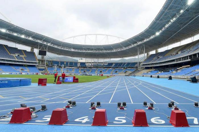 olympische Rennbahn von Rio