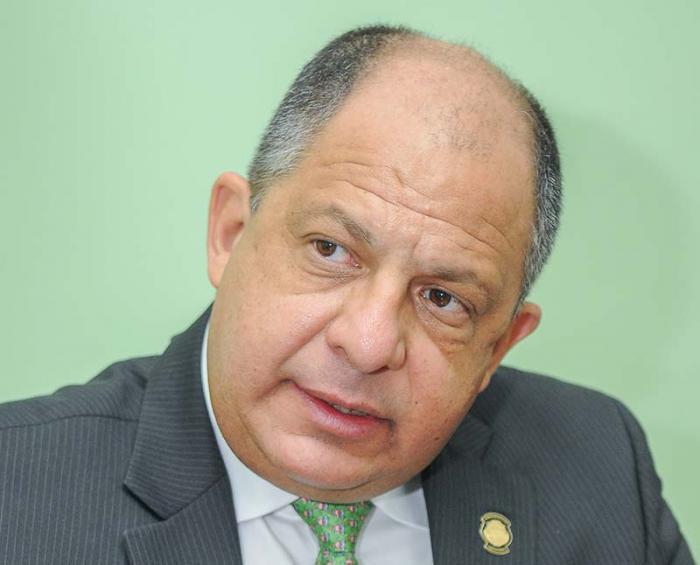 Präsident Costa Ricas