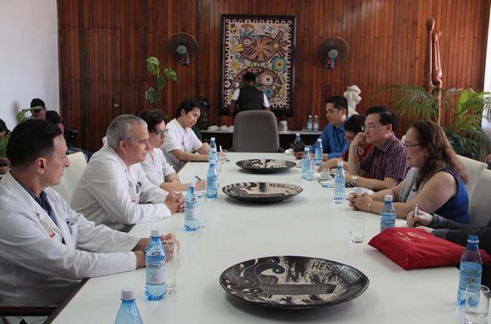 Delegation des Gesundheitsministeriums der Philippinen