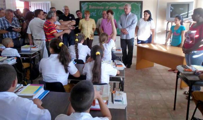 Schuljahresbeginn in Pinar del Rio