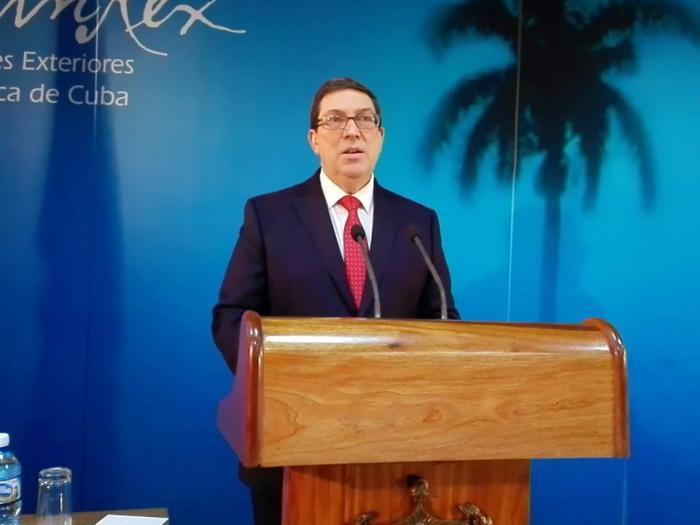 Außenminister Bruno Rodríguez Parrilla