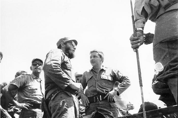 Hurrikan Flora: Fidel und Raúl während der Rettungsaktionen