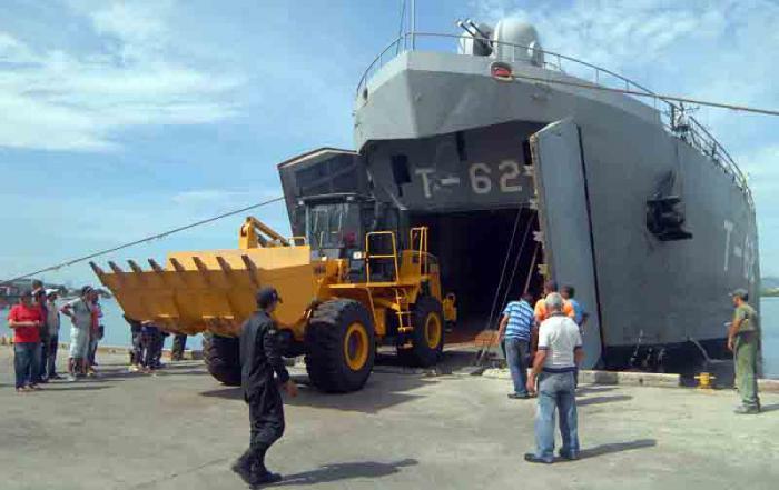 Hilfsgüter aus Venezuela in Kuba angekommen
