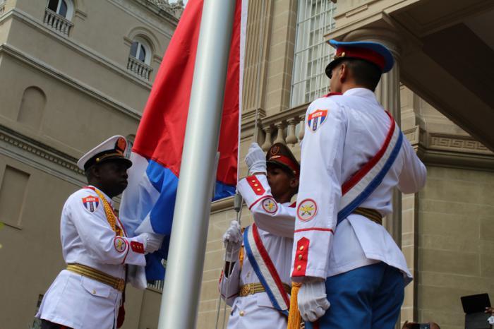 Wiedereröffnung der Botschaft Kubas in den Vereinigten Staaten
