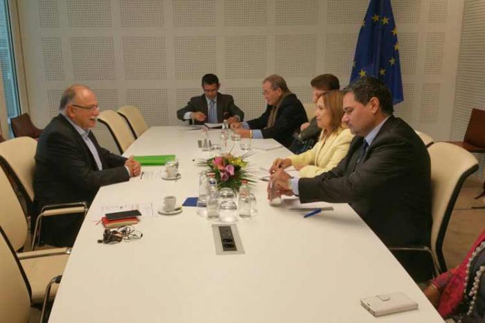 Kubanische Abgeordnete besuchen Europaparlament