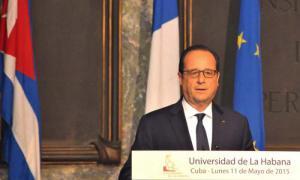 Präsident Frankreichs Hollande
