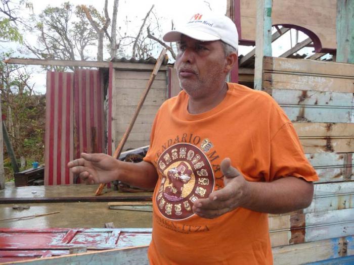Wilder Jiménez Olivero, Amateurfunker aus La Cuchilla