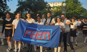 Studenten der IPVCE in Holguín
