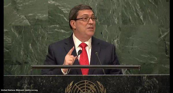 kubanischer Außenminister Bruno Rodríguez Parrilla