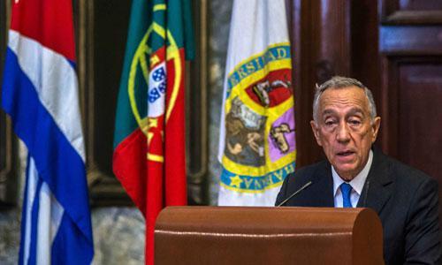 portugiesischer Präsident Marcelo Rebelo de Sousa