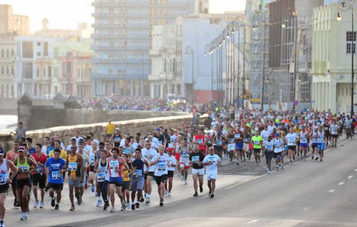 Marathon in Havanna