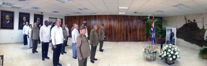 Ehrenwache für den Comandante en Jefe