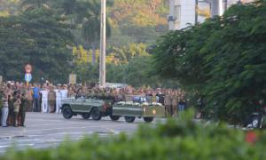 Fidel bereits in Richtung Santiago aufgebrochen