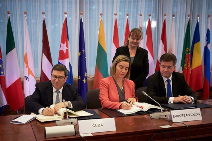 Abkommen EU-Kuba unterzeichnet