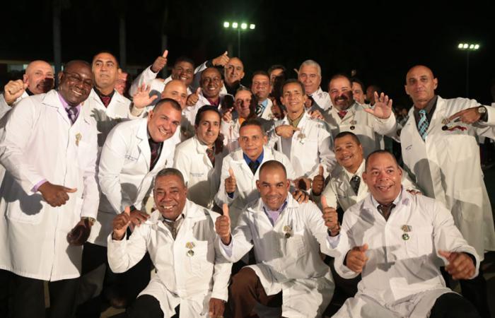 Ehrung für kubanische Ärzte