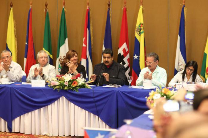 Foro Sao Paulo in der Hauptstadt Nicaraguas