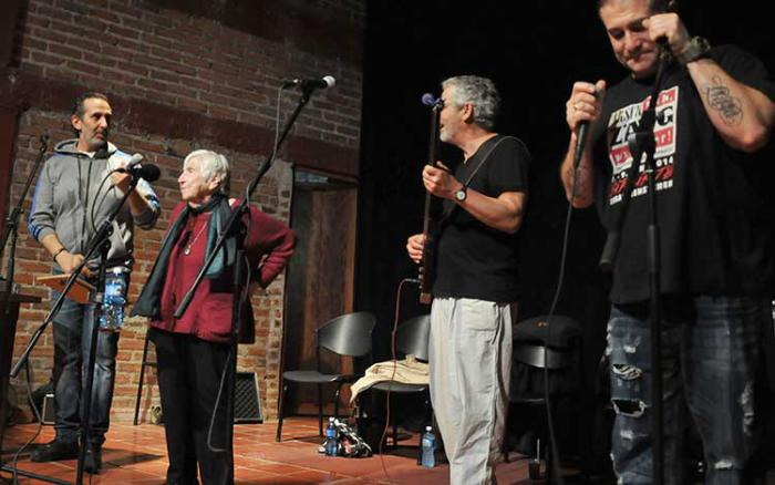 Esther Bejarano, Konzert im Kulturzentrum El Mejunje von Santa Clara