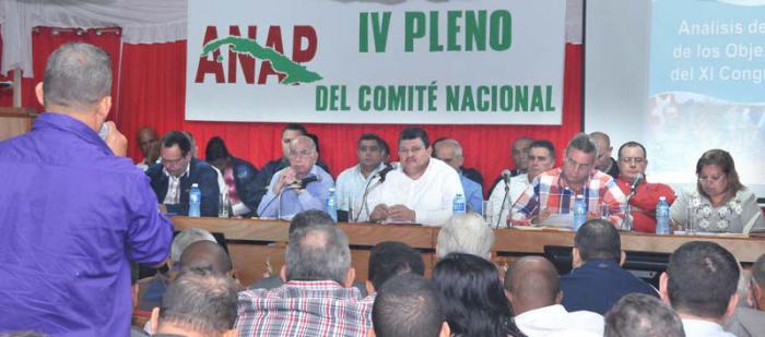 4. Plenum des Nationalkomitees des Kleinbauernverbandes