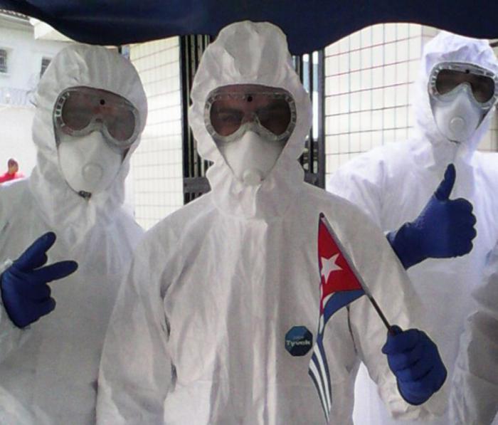 kubanisches medizinisches Kontingent Henry Reeve
