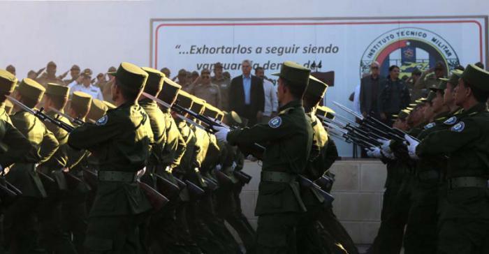politisch-militärischer Festakt