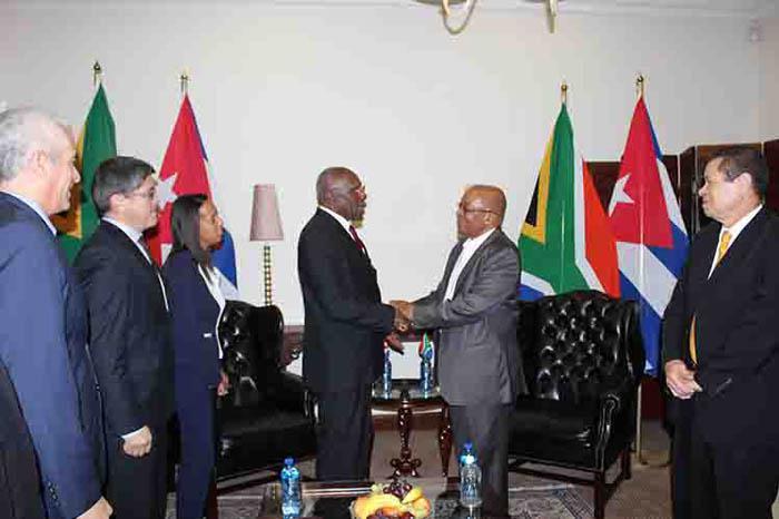Kuba und Südafrika