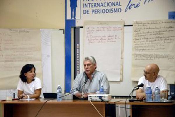 Treffen der jungen Journalisten