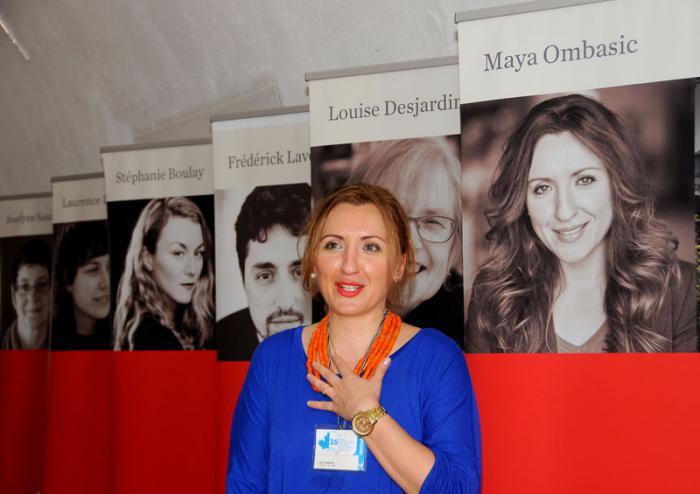 Die kanadische Autorin Maya Ombasic