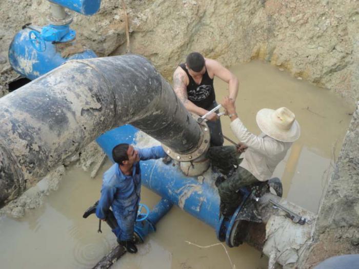 Wasserleitung Lebrije-Jatibonico