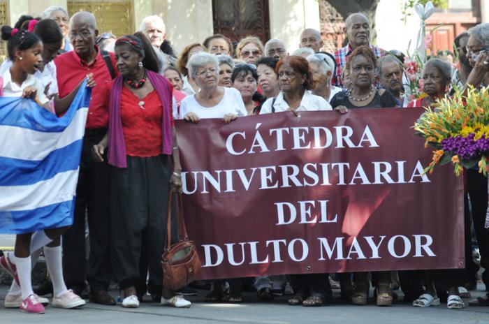 Senioren-Lehrstuhl der Universität Havanna