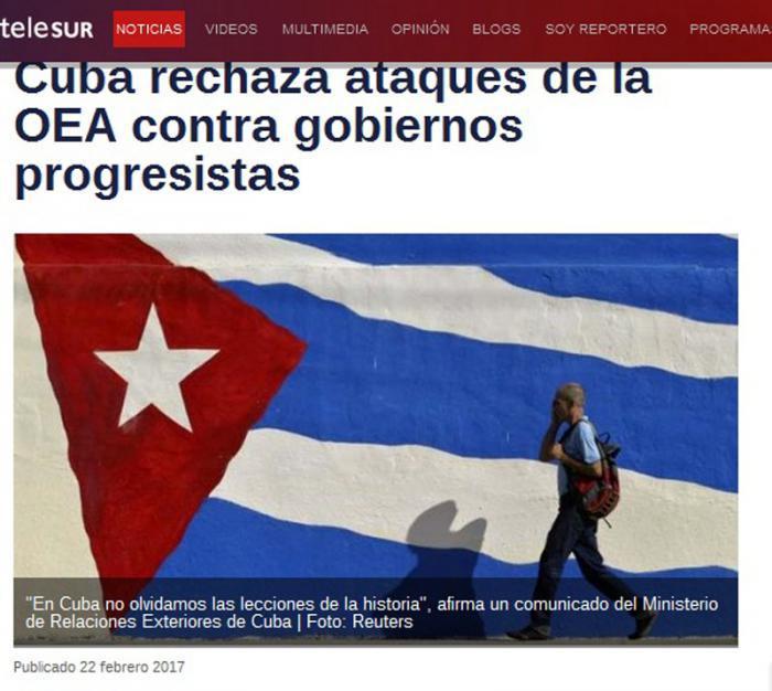 Widerstand Kubas angesichts von Provokationen
