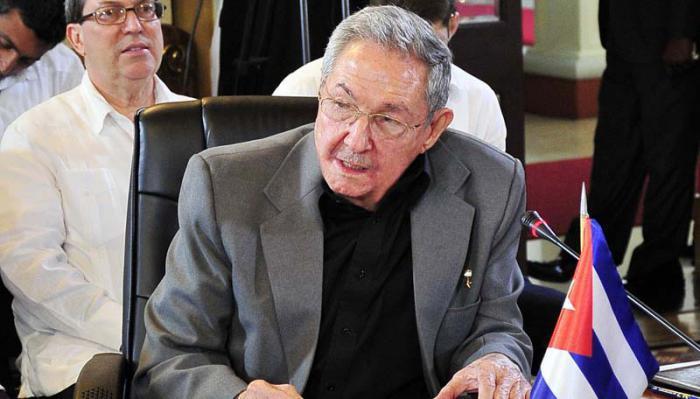 Raul Castro auf dem XIV Sondergipfel der ALBA-TCP
